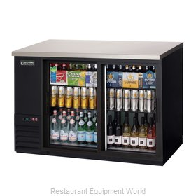 Everest Refrigeration EBB48G-SD Back Bar Cabinet, Refrigerated