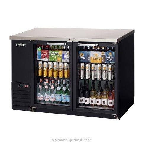 Everest Refrigeration EBB48G Back Bar Cabinet, Refrigerated