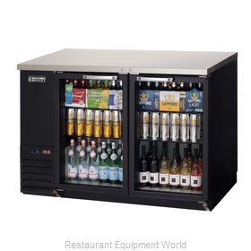Everest Refrigeration EBB48G Back Bar Cabinet, Refrigerated