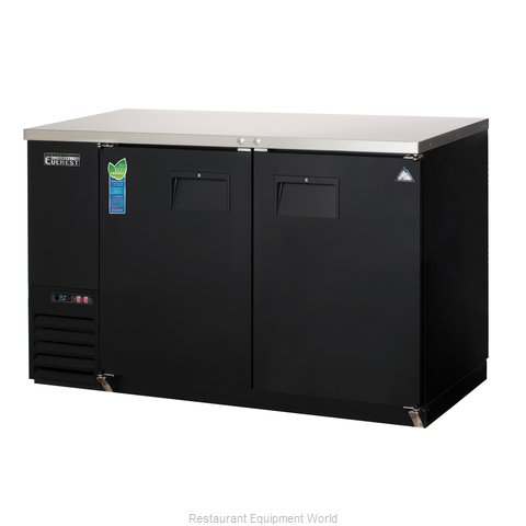 Everest Refrigeration EBB59 Back Bar Cabinet, Refrigerated