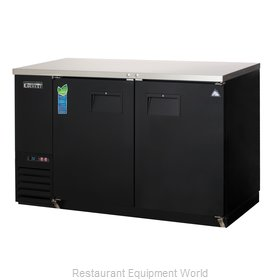 Everest Refrigeration EBB59 Back Bar Cabinet, Refrigerated