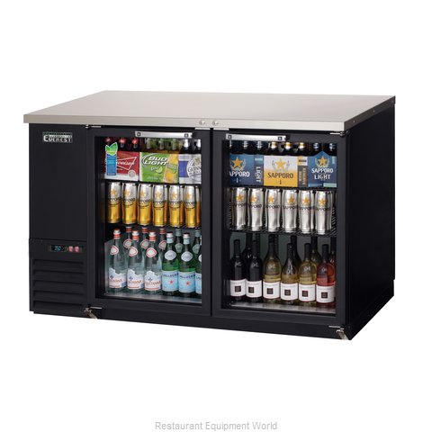 Everest Refrigeration EBB59G-24 Back Bar Cabinet, Refrigerated