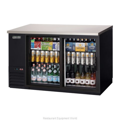 Everest Refrigeration EBB59G-SD Back Bar Cabinet, Refrigerated (Magnified)