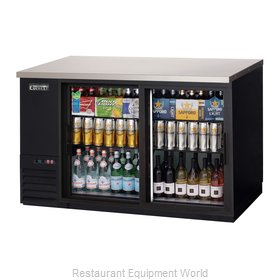 Everest Refrigeration EBB59G-SD Back Bar Cabinet, Refrigerated