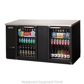 Everest Refrigeration EBB69G-24 Back Bar Cabinet, Refrigerated