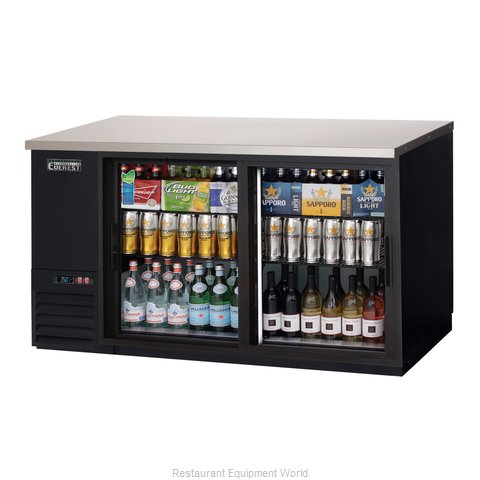 Everest Refrigeration EBB69G-SD Back Bar Cabinet, Refrigerated (Magnified)