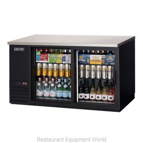 Everest Refrigeration EBB69G-SD Back Bar Cabinet, Refrigerated