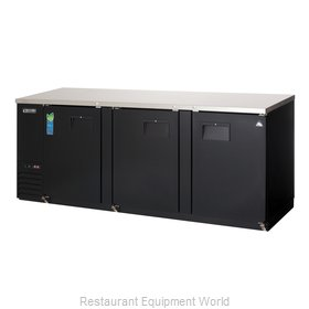 Everest Refrigeration EBB90-24 Back Bar Cabinet, Refrigerated