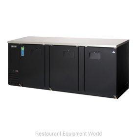 Everest Refrigeration EBB90 Back Bar Cabinet, Refrigerated