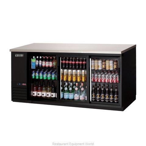 Everest Refrigeration EBB90G-SD Back Bar Cabinet, Refrigerated