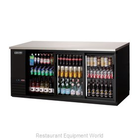 Everest Refrigeration EBB90G-SD Back Bar Cabinet, Refrigerated