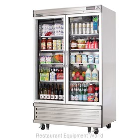 Everest Refrigeration EBGNR2 Refrigerator, Reach-In