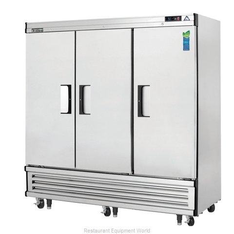 Everest Refrigeration EBR3 Refrigerator, Reach-In