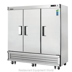 Everest Refrigeration EBR3 Refrigerator, Reach-In