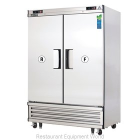 Everest Refrigeration EBRF2 Refrigerator Freezer, Reach-In