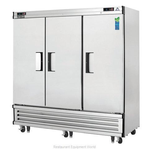 Everest Refrigeration EBRF3 Refrigerator Freezer, Reach-In