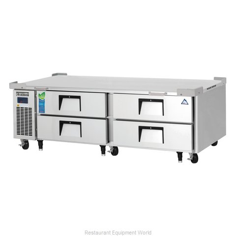 Everest Refrigeration ECB72D4 Equipment Stand, Refrigerated Base