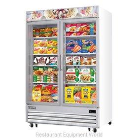 Everest Refrigeration EMGF48 Freezer, Merchandiser