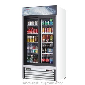 Everest Refrigeration EMGR33 Refrigerator, Merchandiser