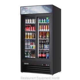 Everest Refrigeration EMGR33B Refrigerator, Merchandiser