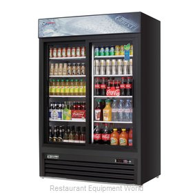 Everest Refrigeration EMGR48B Refrigerator, Merchandiser