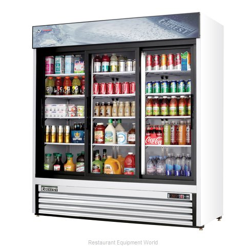 Everest Refrigeration EMGR69 Refrigerator, Merchandiser