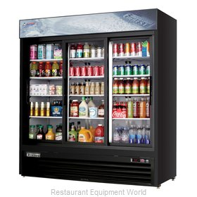 Everest Refrigeration EMGR69B Refrigerator, Merchandiser