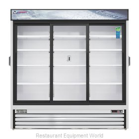 Everest Refrigeration EMGR69C Refrigerator, Merchandiser