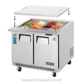 Everest Refrigeration EOTPS2 Refrigerated Counter, Mega Top Sandwich / Salad Uni