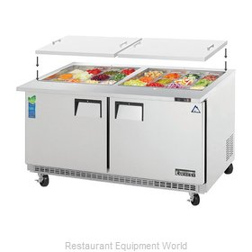 Everest Refrigeration EOTPW2 Refrigerated Counter, Mega Top Sandwich / Salad Uni