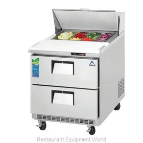 Everest Refrigeration EPBNR1-D2 Refrigerated Counter, Sandwich / Salad Top
