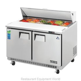 Everest Refrigeration EPBNR2 Refrigerated Counter, Sandwich / Salad Top