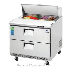 Everest Refrigeration EPBNSR2-D2 Refrigerated Counter, Sandwich / Salad Top