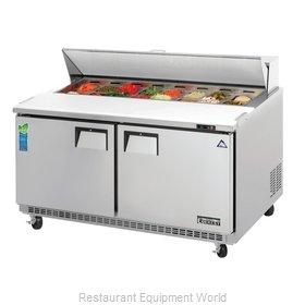 Everest Refrigeration EPBNWR2 Refrigerated Counter, Sandwich / Salad Top