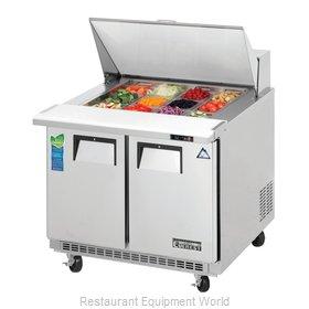 Everest Refrigeration EPBSR2 Refrigerated Counter, Mega Top Sandwich / Salad Uni