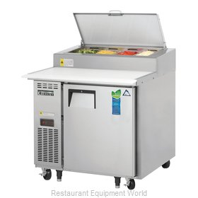 Everest Refrigeration EPPR1 Refrigerated Counter, Pizza Prep Table