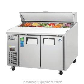 Everest Refrigeration EPR2 Refrigerated Counter, Sandwich / Salad Top
