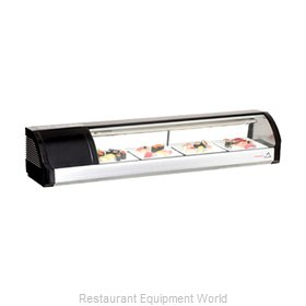Everest Refrigeration ESC59L Display Case, Refrigerated Sushi