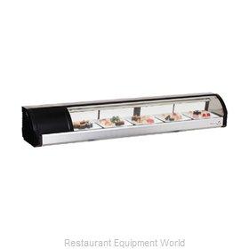 Everest Refrigeration ESC71L Display Case, Refrigerated Sushi