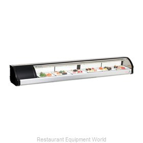 Everest Refrigeration ESC83L Display Case, Refrigerated Sushi