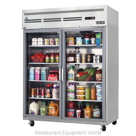 Everest Refrigeration ESGWR2 Refrigerator, Reach-in