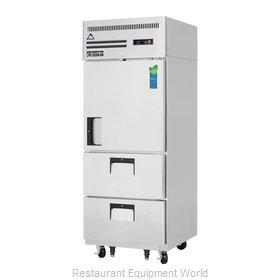 Everest Refrigeration ESR1D2 Refrigerator, Reach-In