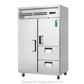 Everest Refrigeration ESR2D2 Refrigerator, Reach-In