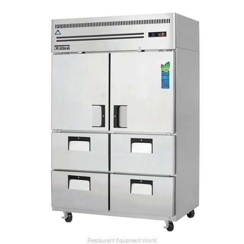 Everest Refrigeration ESR2D4 Refrigerator, Reach-In