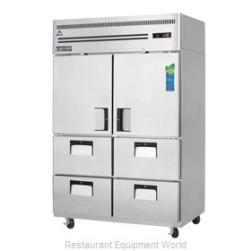 Everest Refrigeration ESR2D4 Refrigerator, Reach-In