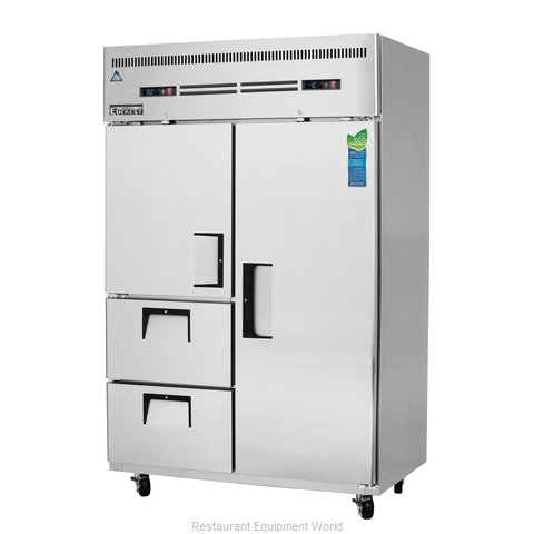Everest Refrigeration ESRF2D2 Refrigerator Freezer, Reach-In
