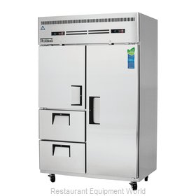 Everest Refrigeration ESRF2D2 Refrigerator Freezer, Reach-In