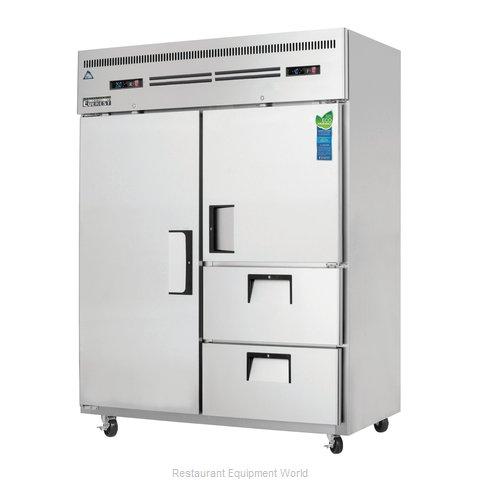 Everest Refrigeration ESWQ2D2 Refrigerator Freezer, Reach-In