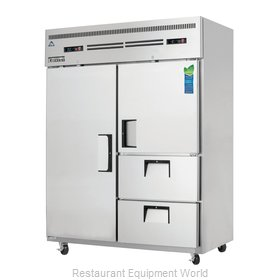 Everest Refrigeration ESWQ2D2 Refrigerator Freezer, Reach-In