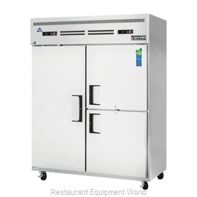Everest Refrigeration ESWQ3 Refrigerator Freezer, Reach-In